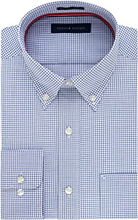 Tommy Hilfiger Men's Non Iron Regular Fit Gingham...