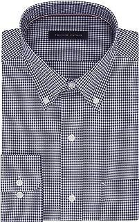 Tommy Hilfiger Men's Dress Shirt Regular Fit Non Iron...