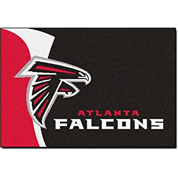 FANMATS NFL Atlanta Falcons Nylon Face Deluxe Car Mat