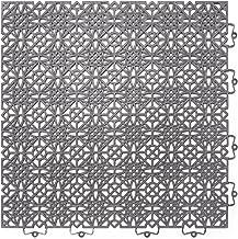 Andiamo kunststof tegel/vloertegel 38 x 38 cm, set: bestaande uit 7 tegels 1 m2