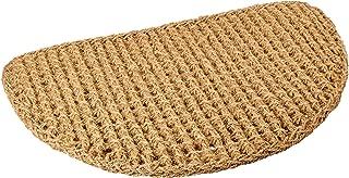 Kempf Half Round Dragon Coco Coir Doormat, 18 by 30 by 1-Inch