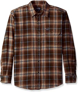 Smith's Workwear Men's Double Brushed Flannel Shirt