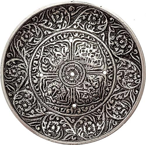 lowest Tibetan Incense Burner Plate for wholesale Meditation, Yoga, outlet sale Aromatherapy, Home Fragrance outlet sale
