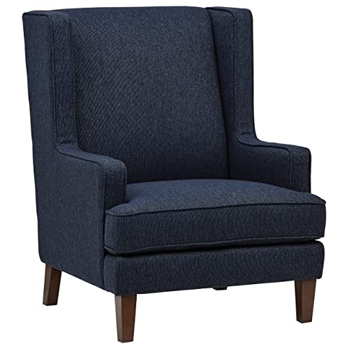 Blue Wingback Chair Amazon