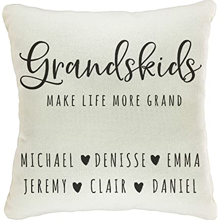 Personalized pillow featuring the name OLIVER in photos of actual signs; Home decor; Throw pillow; Accent pillow; Custom couch cushion;