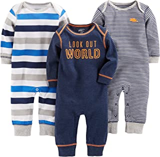 Baby 3-Pack Jumpsuits