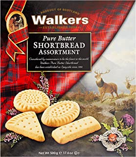 Walkers Traditional Pure Butter Shortbread Cookie Assortment 17.6 oz Box
