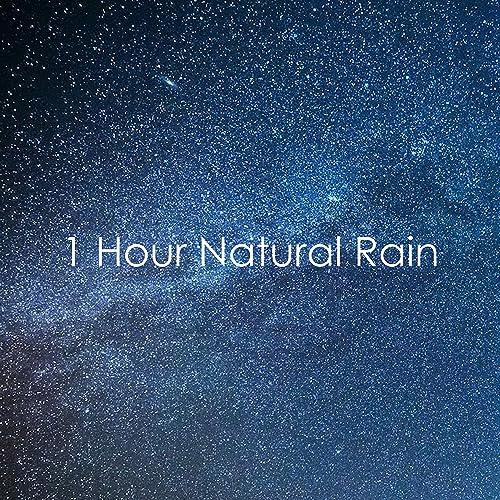 1 Hour Natural Rain Sounds - Loopable for Sleep, Spa