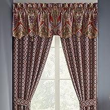Croscill Margaux Coordinating Window Treatment, 54 x 19, Multicolor