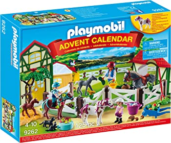 Playmobil 9262 Horse Farm Advent Calendar