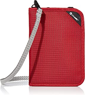 Pacsafe RFIDsafe V150 Anti-Theft RFID Blocking, Goji Berry (red) - 10561324