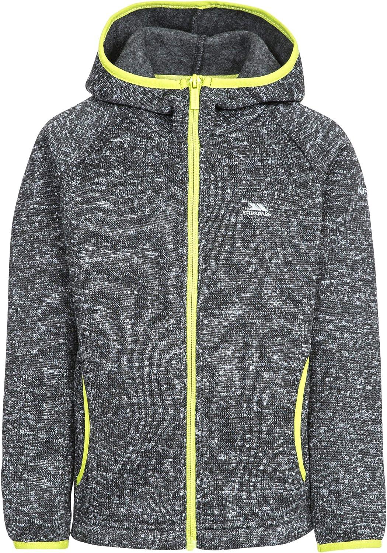 Trespass Childrens Boys Bobstay Fleece Zip Max 53% OFF Jacket Sales results No. 1 Full