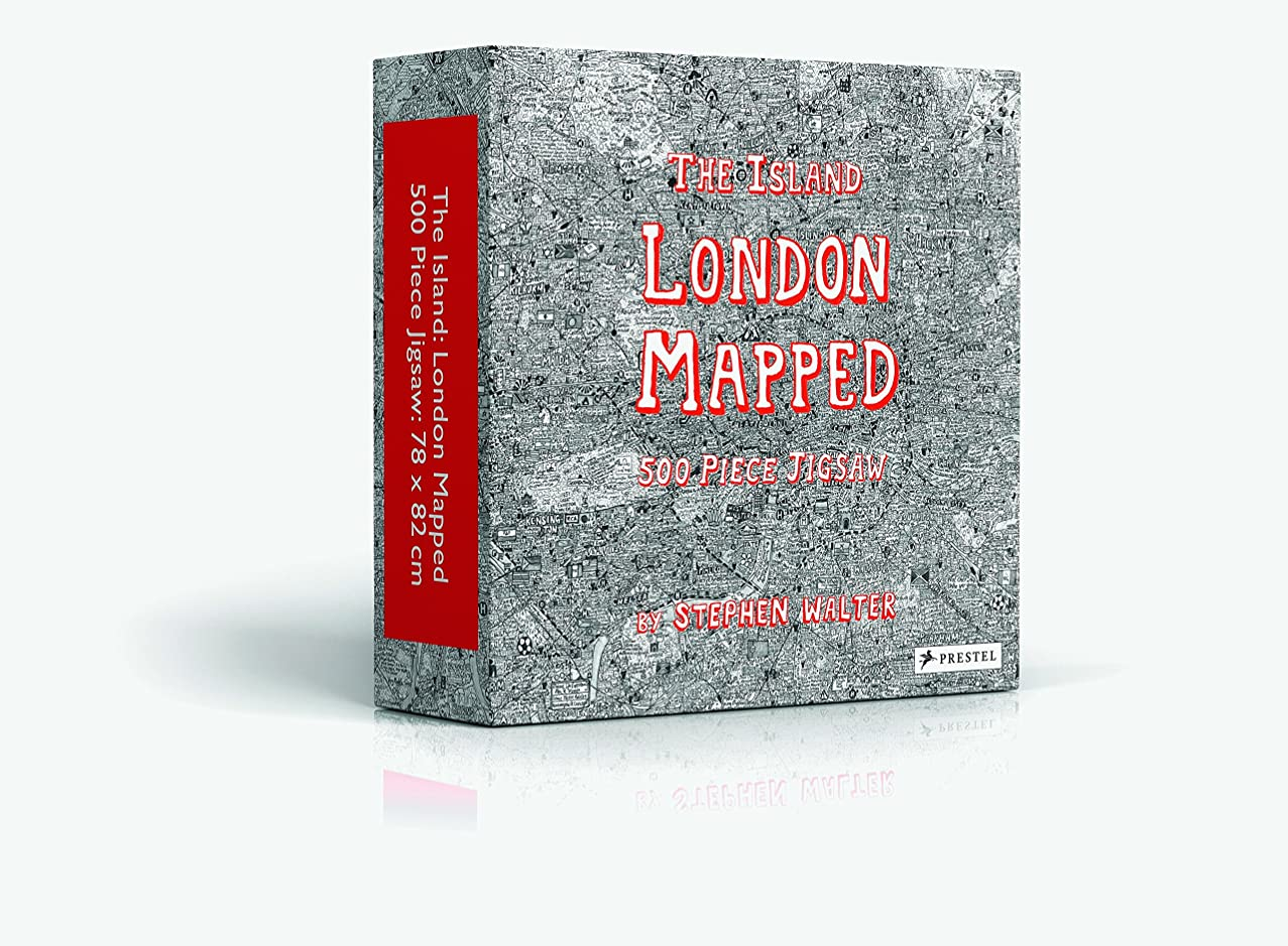 The Island London Mapped: Jigsaw Puzzle Edition