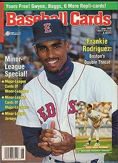 Baseball Cards June 1992 Frankie Rodriguez Todd Van Poppel w/ Cards