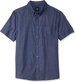 Hammersmith Men's Woodbridge SS Shirt, Navy