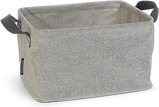 Brabantia 105685 Panier à linge pliable, Grey, Autre, Gris, 30 x 20 x 10 cm