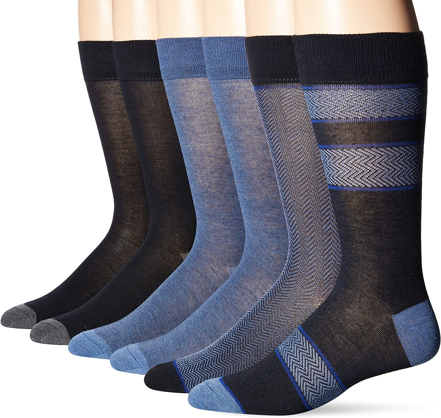 Kenneth Cole New York mens Chevy Pack Dress Sock