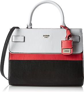 Guess Cate, Damen Shopper, Multicolore (Black Multi), 17x26x32 cm (W x H L)