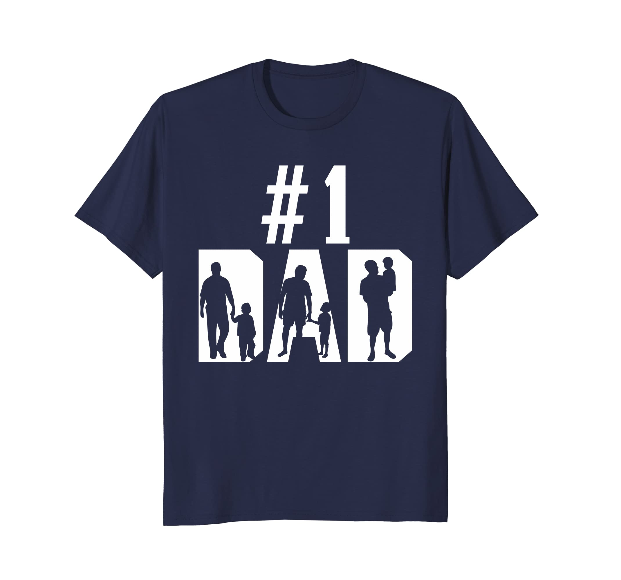 #1 Dad Number One T-Shirt, Gift for Father's Day-anz