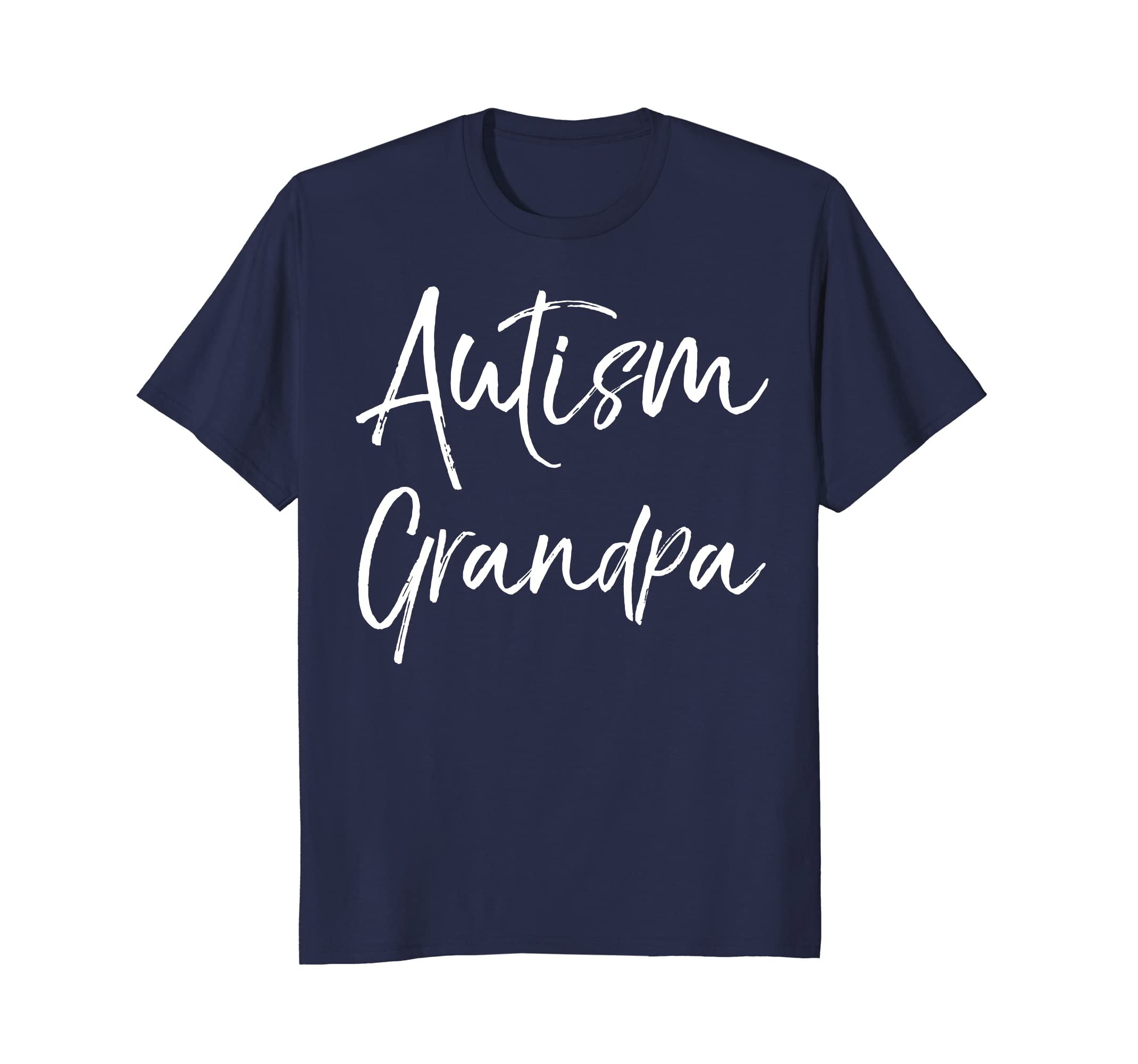 Autism Grandpa Shirt Fun Cool Autistic Grandfather Shirt-SFL