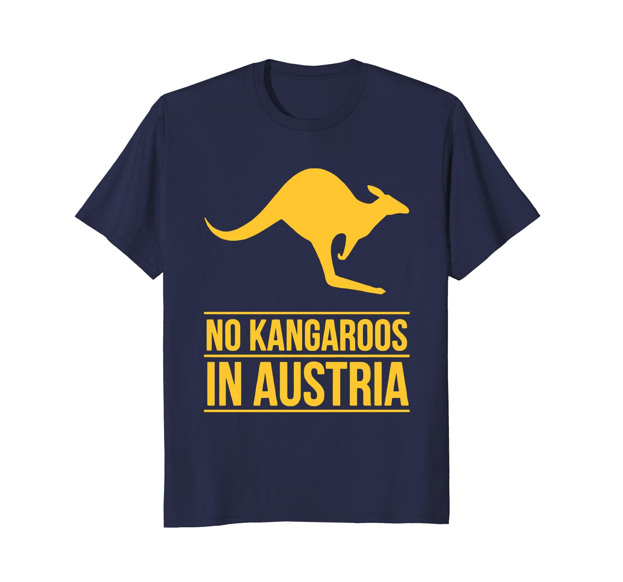 No Kangaroos in Austria T-Shirt-AZP