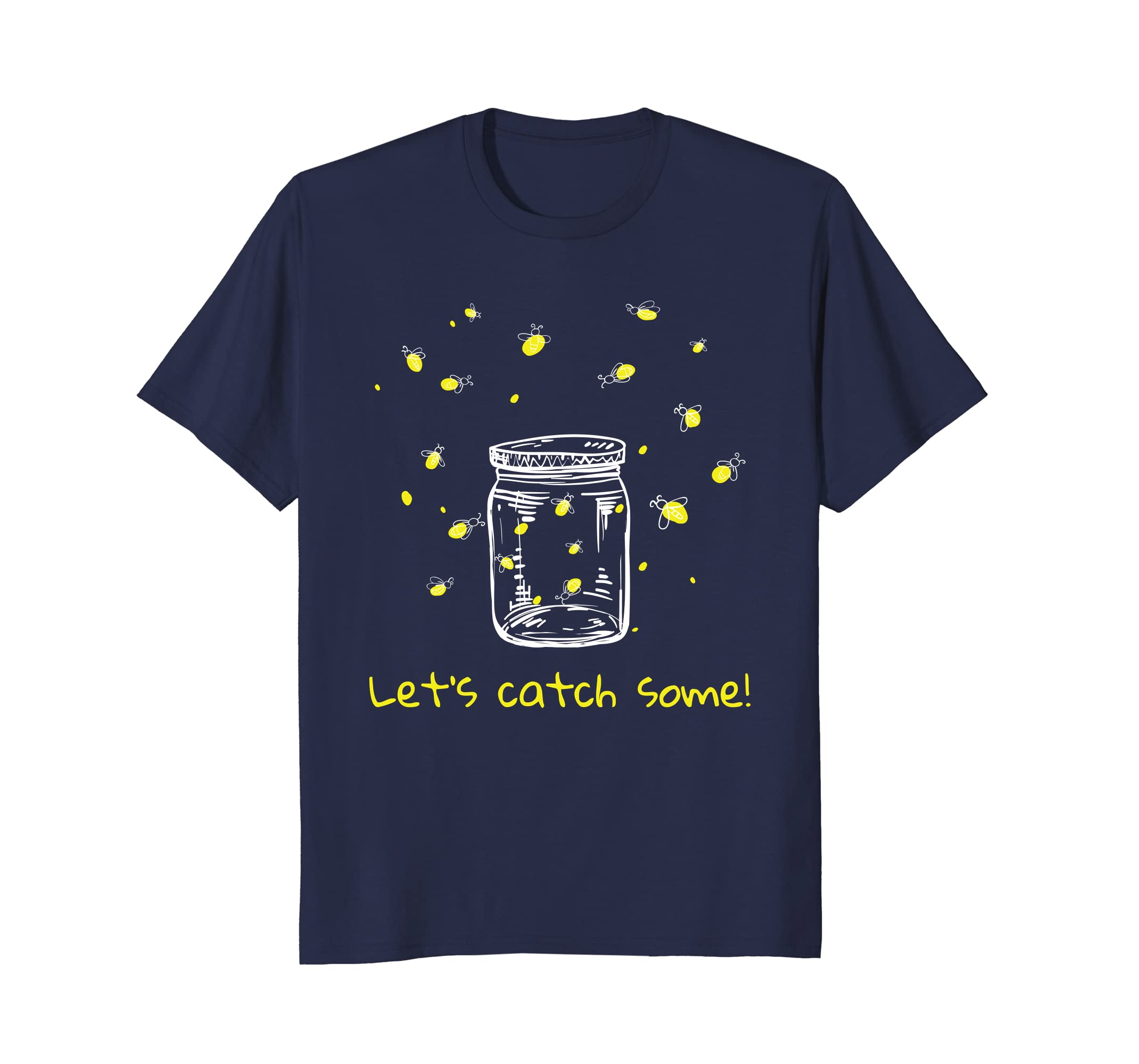 Catching Fireflies T-Shirt Let's Catch Some! lightning bugs-alottee gift