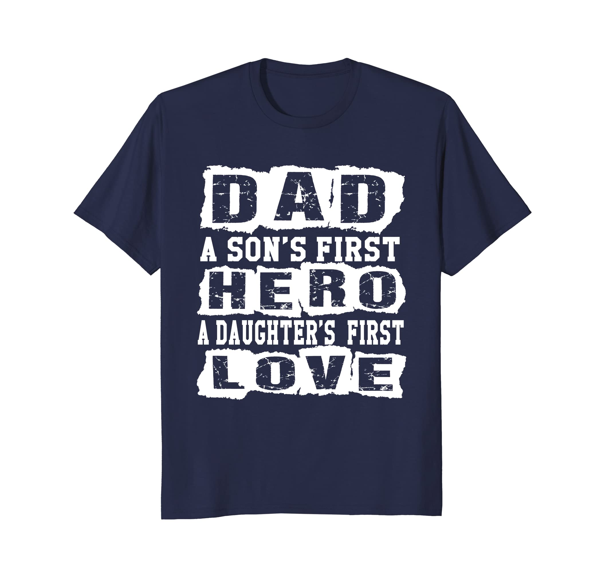 02ed87a3 Mens Cute Daddy Son Daughter Shirt New Dad Fathers Day T-shirt-anz ...