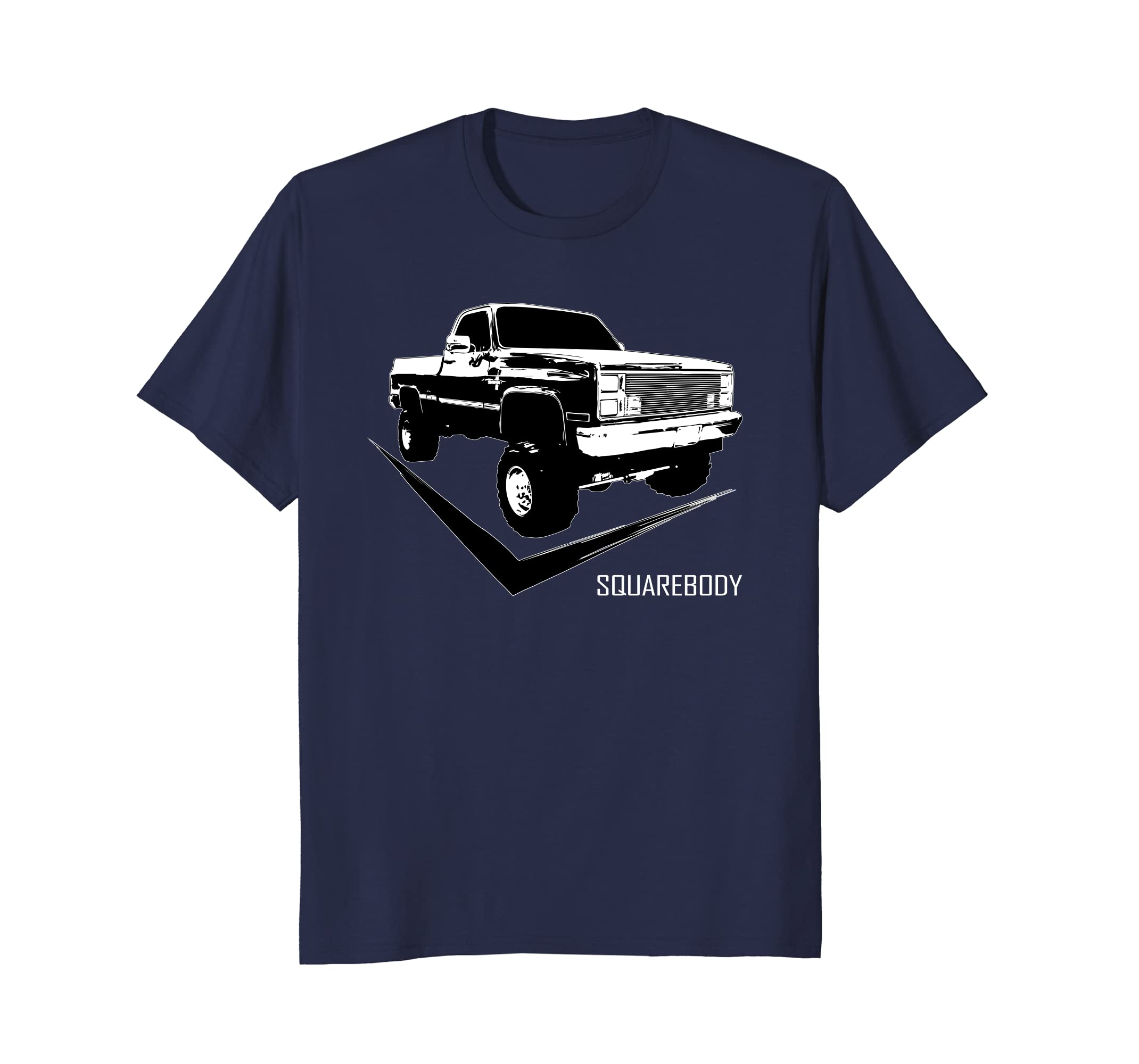 Squarebody T Shirt With Classic Square Body Truck-Teesml
