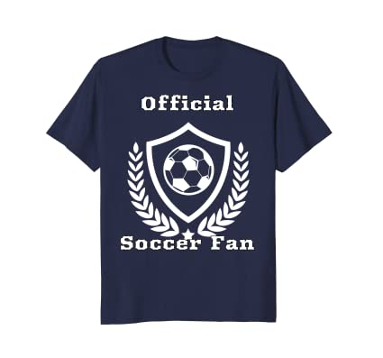 Official Soccer Fan T-Shirt for international world futbol