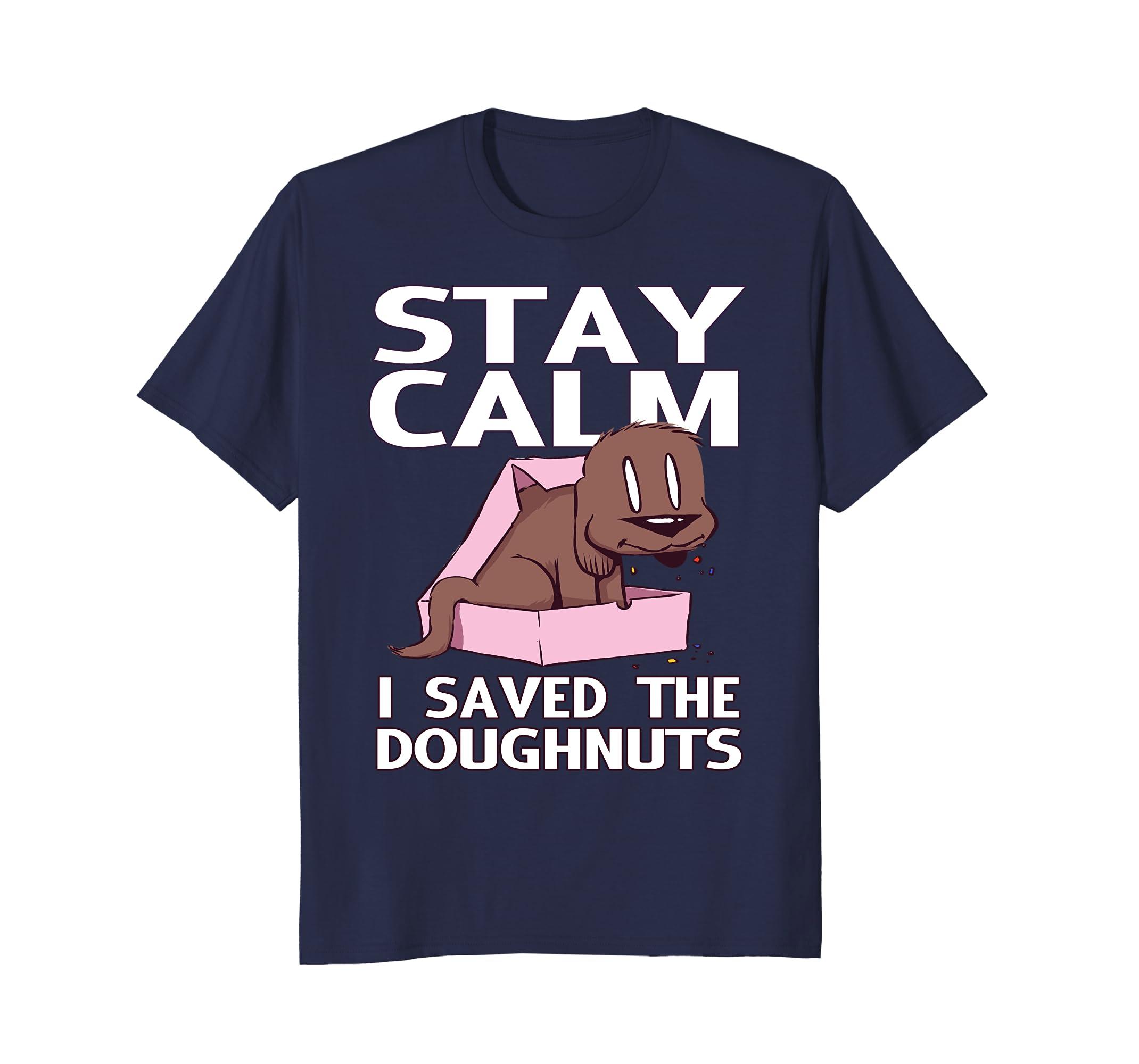 Dog eat Doug - Stay calm I saved the doughnuts-AZP