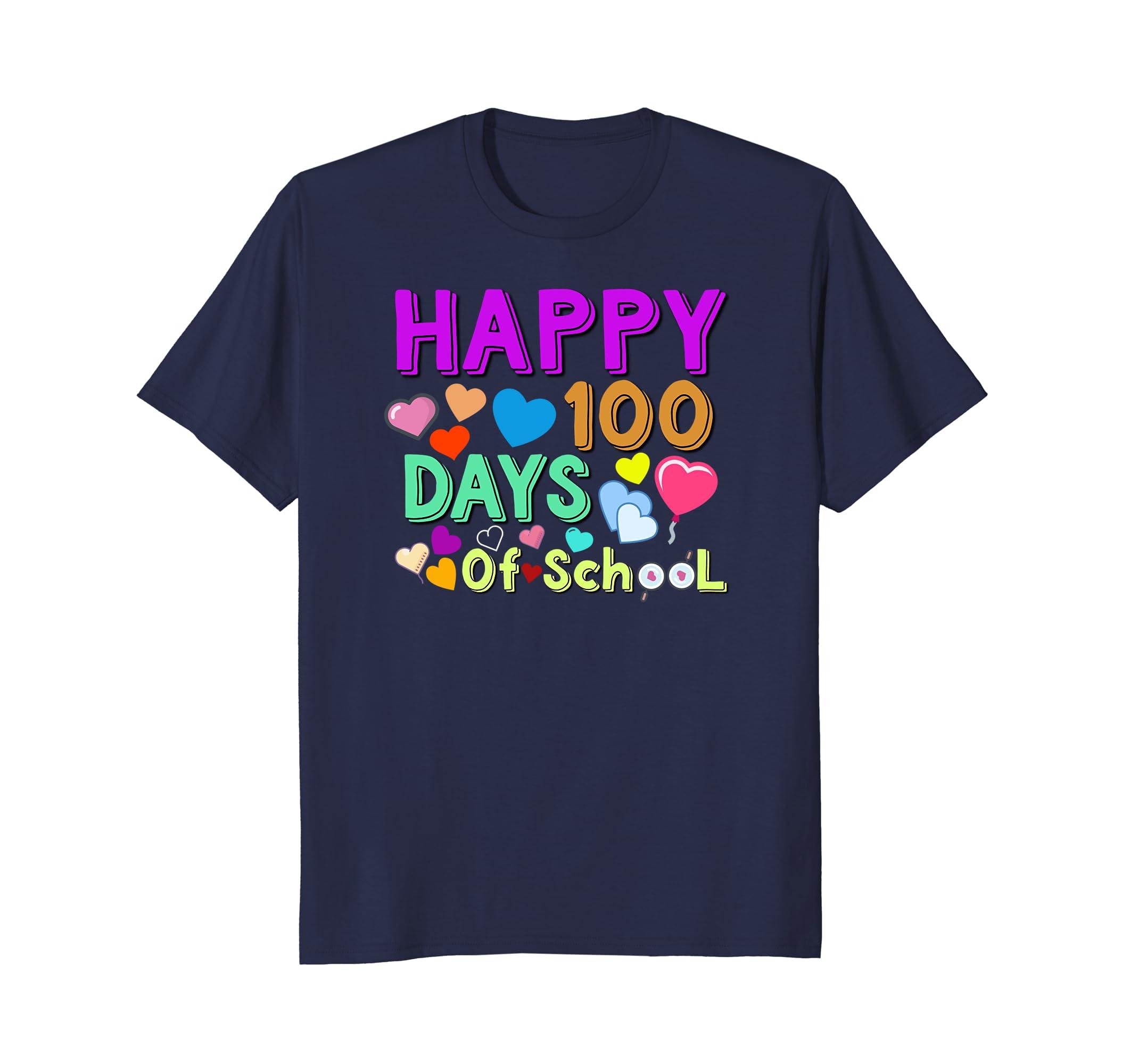 100th Day of School Shirt | Happy 100 Days Of School T-shirt-TH