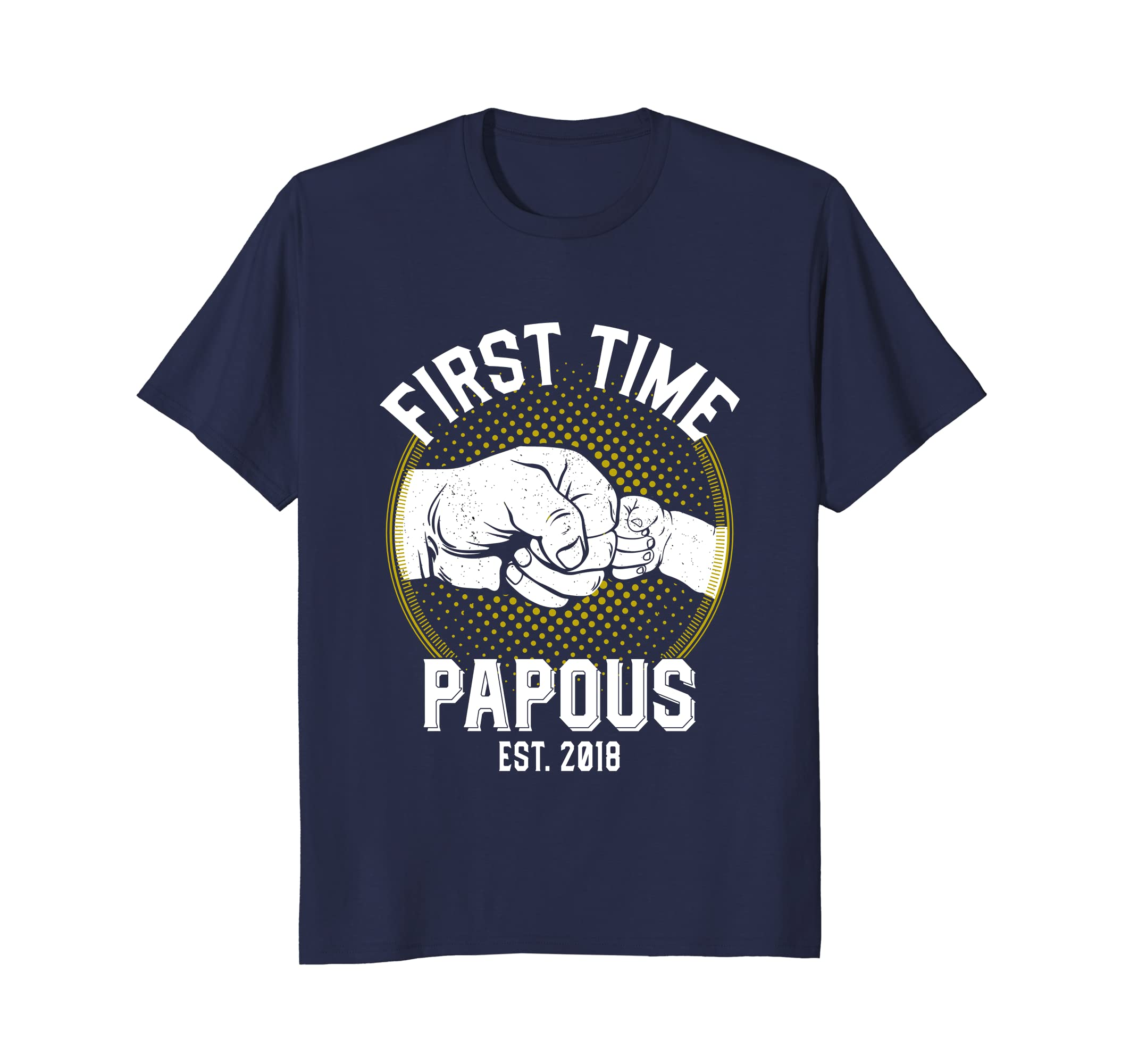 First Time Papous Est 2018 Gift For New Papous Shirt-anz