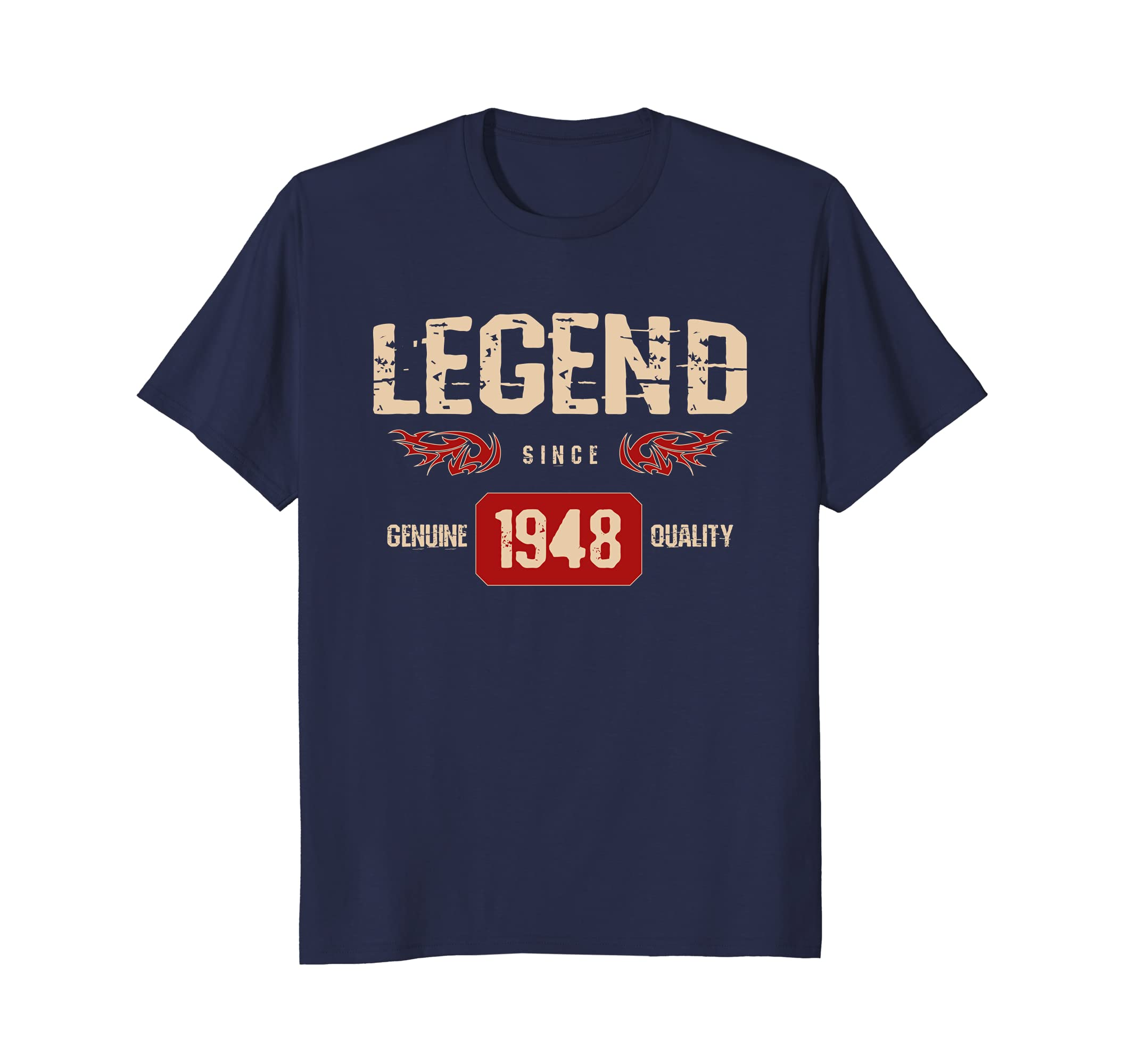 PeakTee 1948 Legend Shirt Men Women 70th Birthday Gift Idea Prm Paramatee