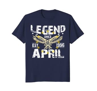 April 1996 Shirt 22nd Birthday Gift Ideas For Men And Women