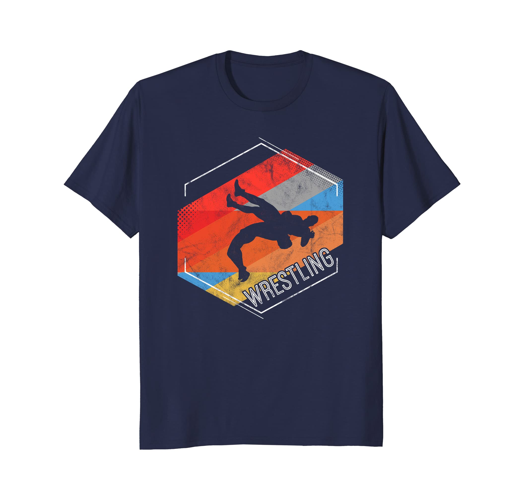Wrestling Shirt Gift for Wrestler Vintage Graphic tee-ah my shirt one gift