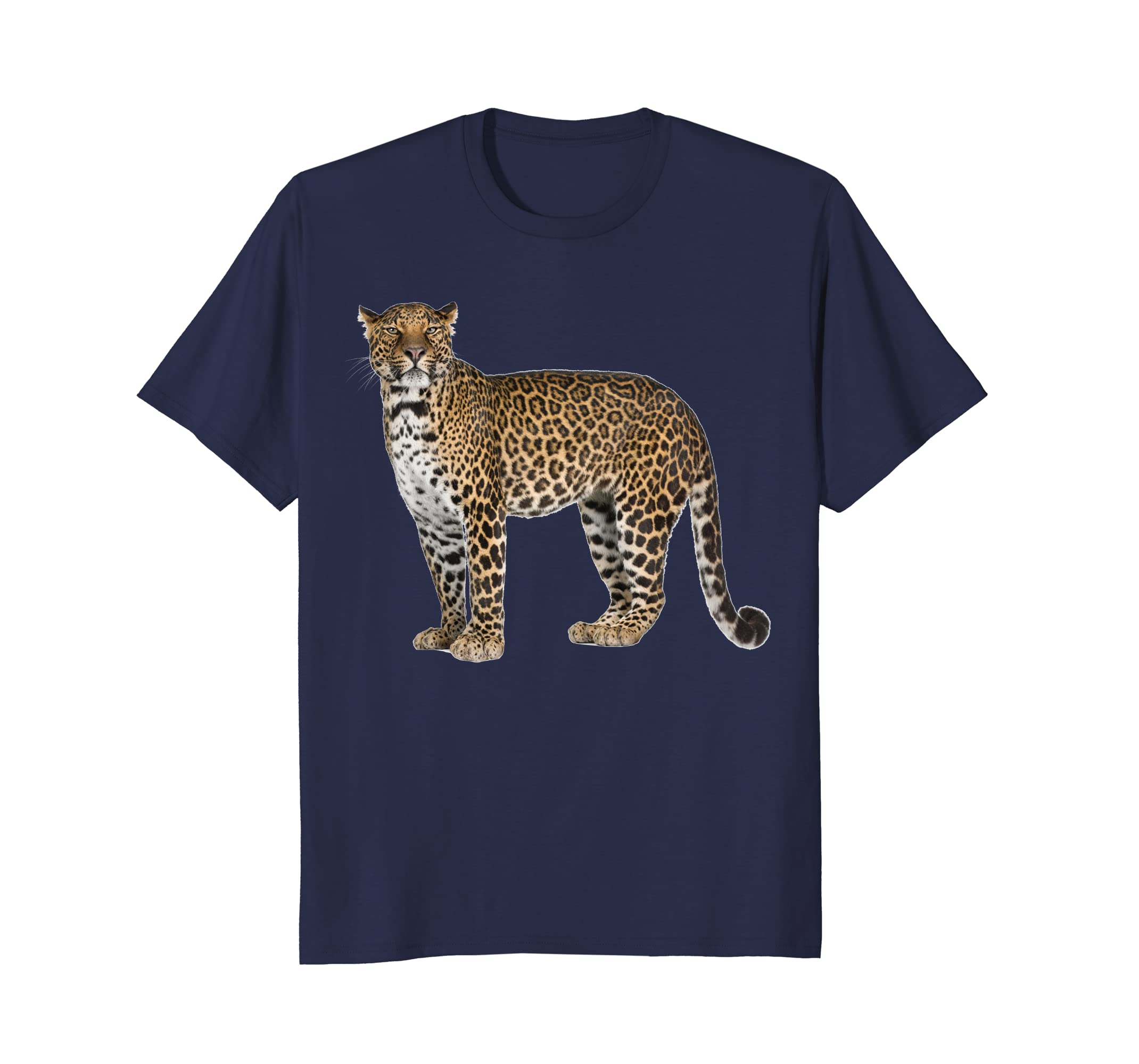 A Leopard Shirt A Leopard Is A Powerful Hunting Kitty Cat-AZP