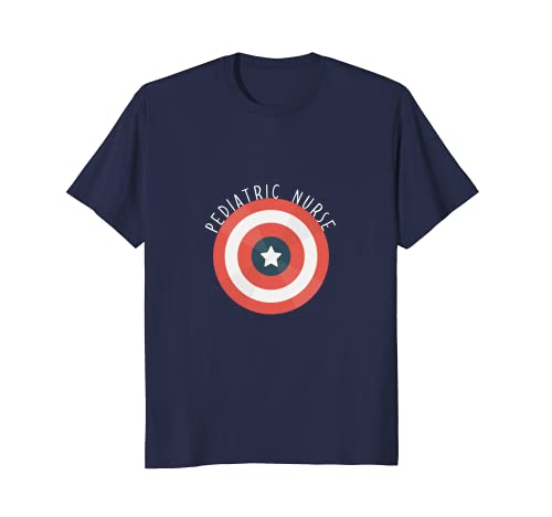 ca8517749 Amazon.com: Pediatric nurse shirt Pediatric nurse superhero T-shirt:  Clothing