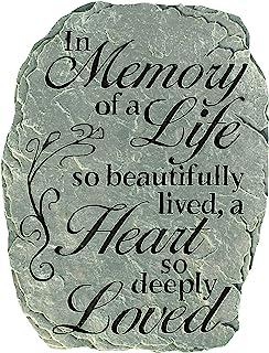 "Carson Garden Stone ""In Memory"""