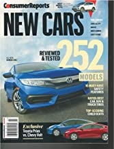Consumer Reports New Cars July 2016