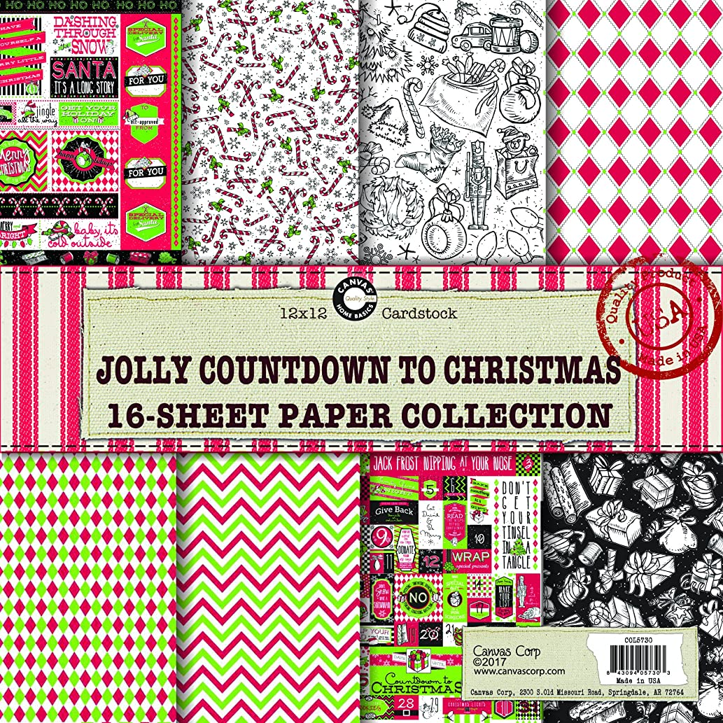 Canvas Corp Jolly Christmas Paper Collection