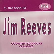 jim reeves karaoke cds