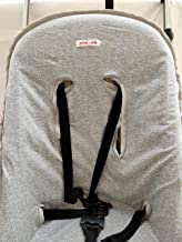 MOON-BEBE Funda fina de algodón para silla de paseo Bugaboo cameleon 2 y 3 (GRIS)
