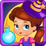 Baby Witch Magic Potion - Halloween Game