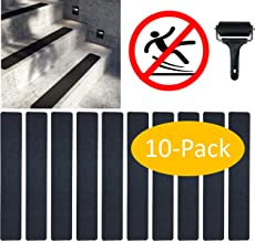 F/ácil instalaci/ón Robusto Perfil de pelda/ño perfil de pelda/ño de escalera de aluminio Antideslizante acerto 38026 Perfil angular de escalera de aluminio 100cm 55x69mm bronce claro