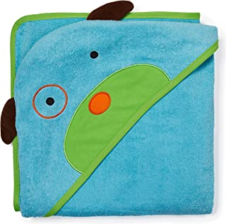 Skip Hop Baby Hooded Towel, 100% Cotton French Terry, Dog