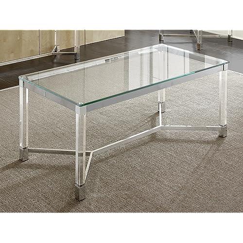 Acrylic Dining Tables: Amazon com