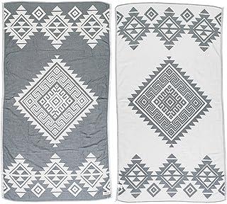 Sauna Serviette Pour Enfants olive blanc serviette serviette devenu