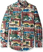 Reyn Spooner Men's Christmas Long Sleeve Hawaiian Shirt