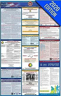 2020 Alabama Labor Law Poster – State, Federal, OSHA Compliant – Single Laminated Poster