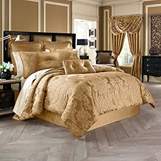 Five Queens Court Colonial 4-Piece Comforter Set, West Coast King Size